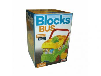 Avtobus s kockami za vstavljanje