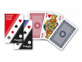 Igralne karte za bridge, remi, kanasta, poker – Piatnik