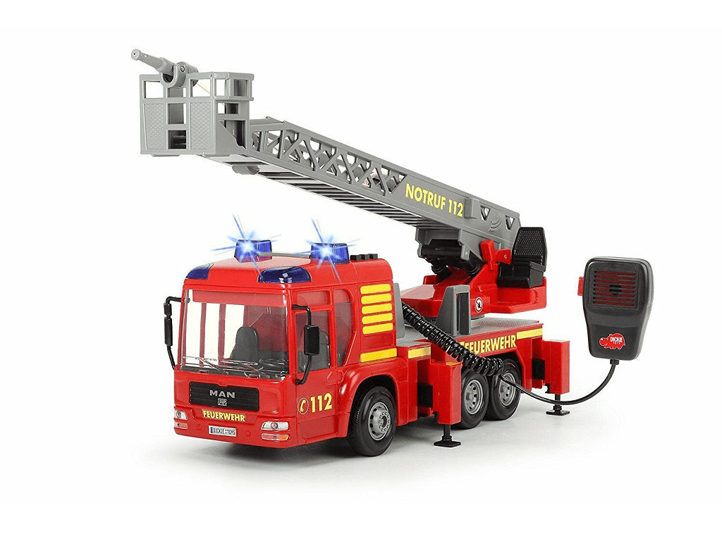 Gasilski tovornjak z mikrofonom Dickie 1