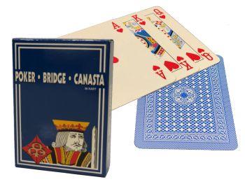 Igralne karte poker bridge canasta modre