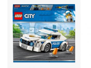 LEGO City Policijsko patruljno vozilo 60239