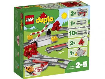 LEGO Duplo Železniški tiri 10882