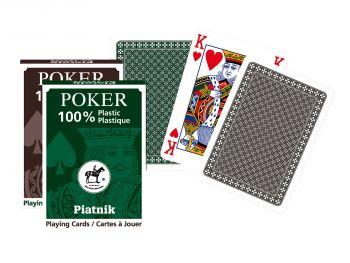 Poker plastične igralne karte Piatnik