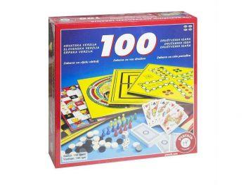 Družabna igra 100 Iger Piatnik