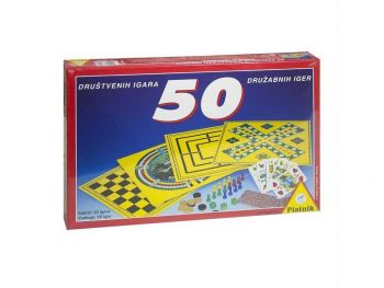 Družabna igra 50 Iger Piatnik