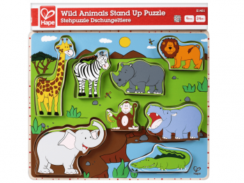 Hape puzzle Divje živali E1451