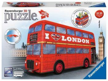 Ravensburger 3D sestavljanka Londonski avtobus
