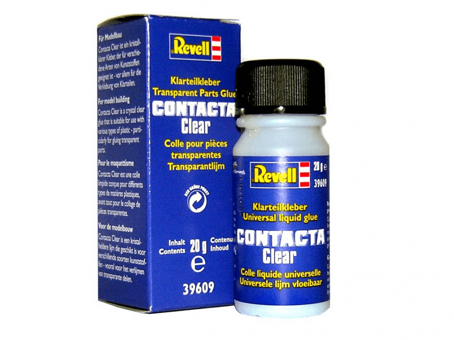 Revell lepilo Contacta Clear 20g 39609