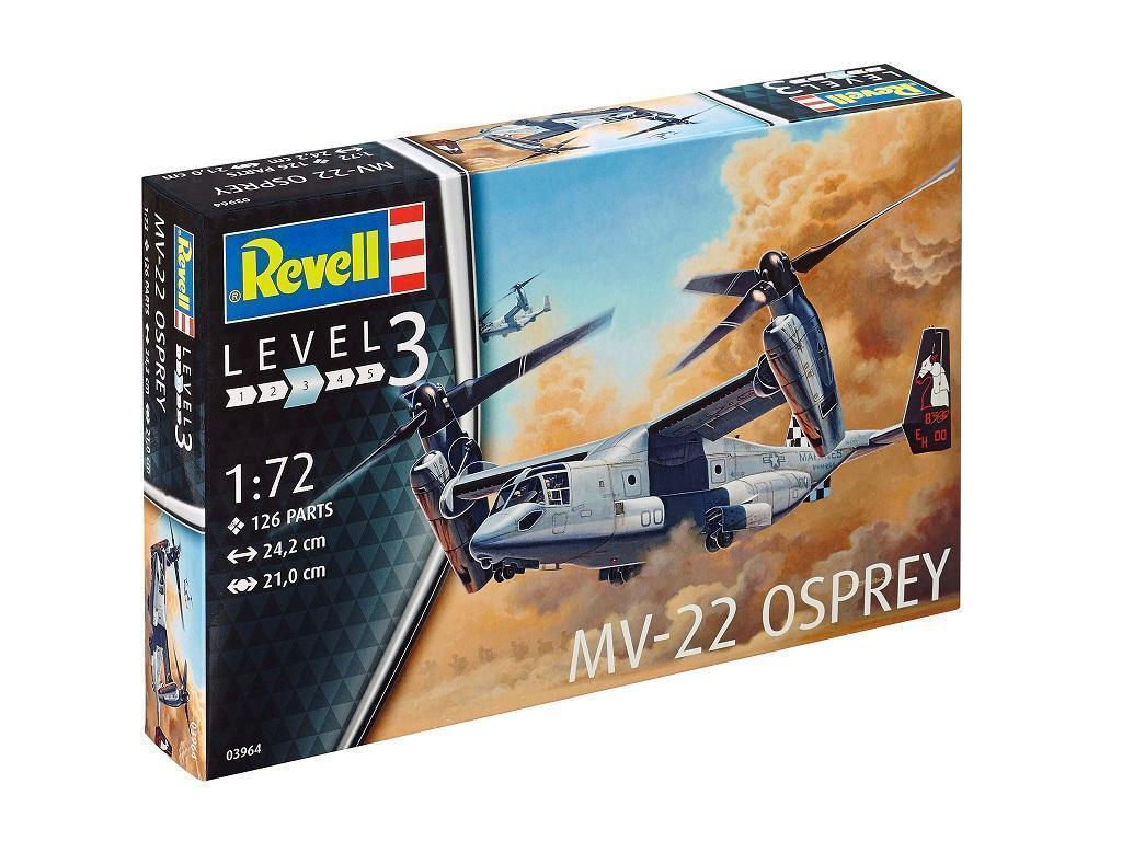 Revell maketa helikopterja MV-22 Osprey 03964