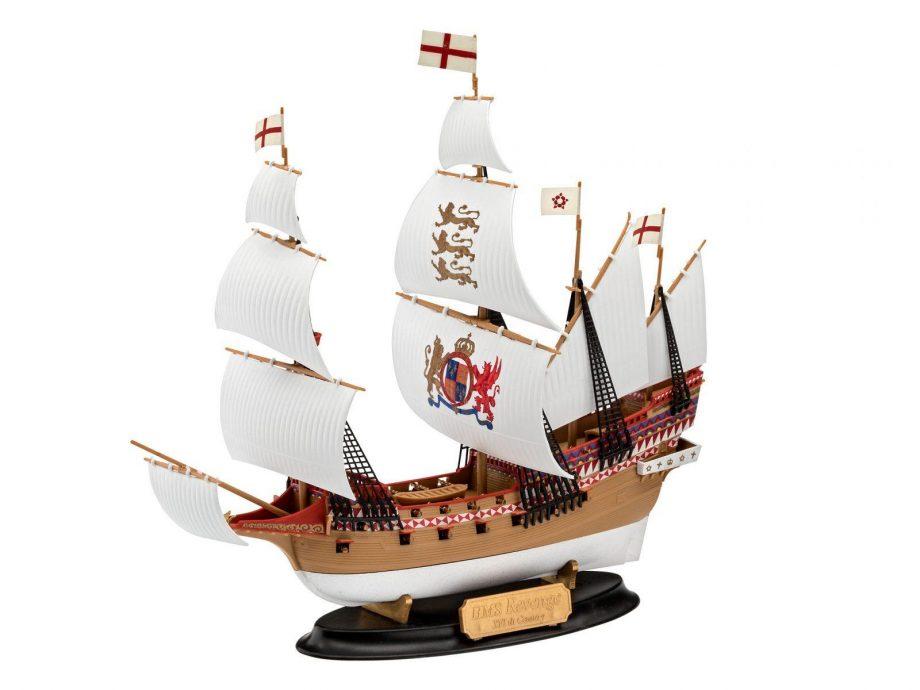 Revell maketa ladje HMS Revenge 05661 1