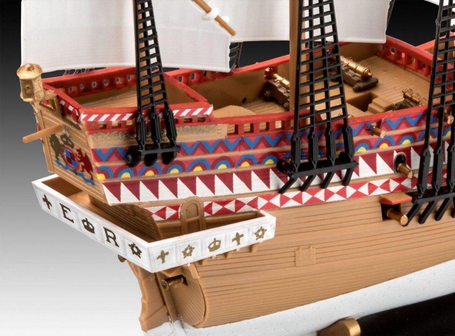 Revell maketa ladje HMS Revenge 05661 2