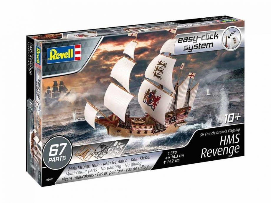 Revell maketa ladje HMS Revenge 05661