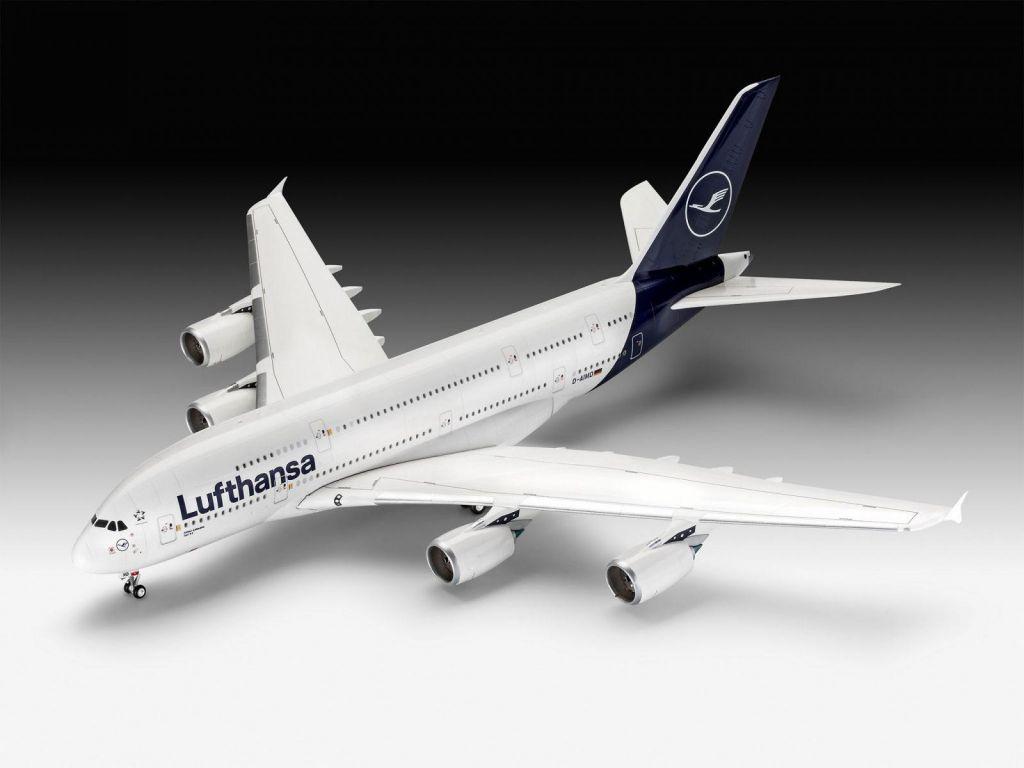 Revell maketa letala Airbus A380-800 Lufthansa New Livery – 180 038721