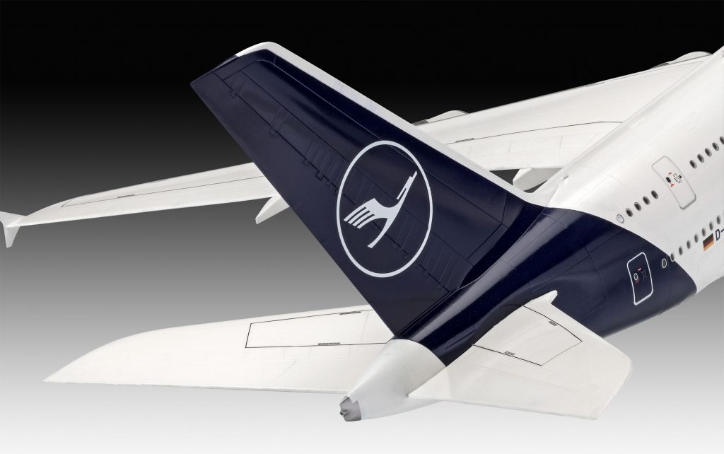 Revell maketa letala Airbus A380-800 Lufthansa New Livery – 180 038722