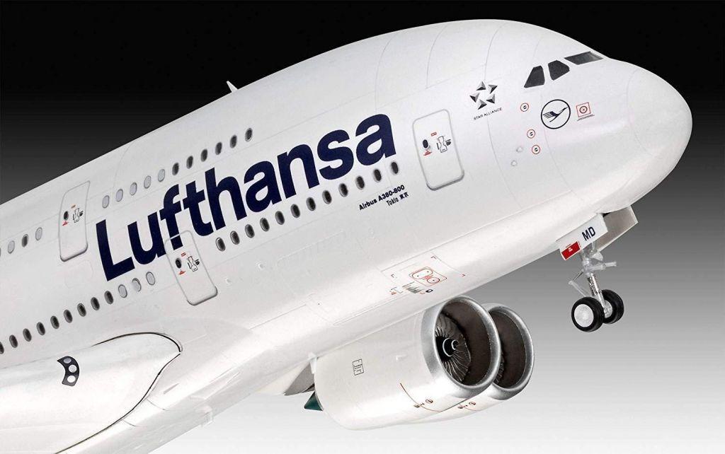Revell maketa letala Airbus A380-800 Lufthansa New Livery – 180 038724