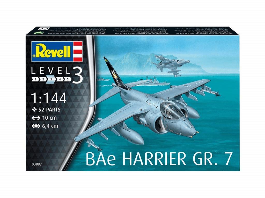 Revell maketa letala BAe Harrier Gr.7 – 015 03887