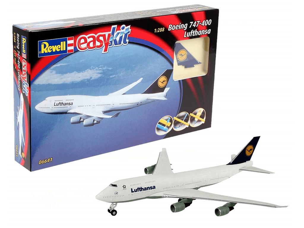 Revell maketa letala Boeing 747 Lufthansa easykit 06641