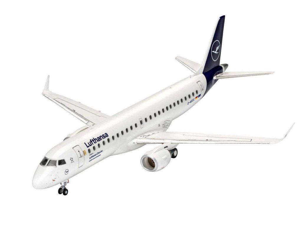 Revell maketa letala Embraer 190 Lufthansa New Livery 038831