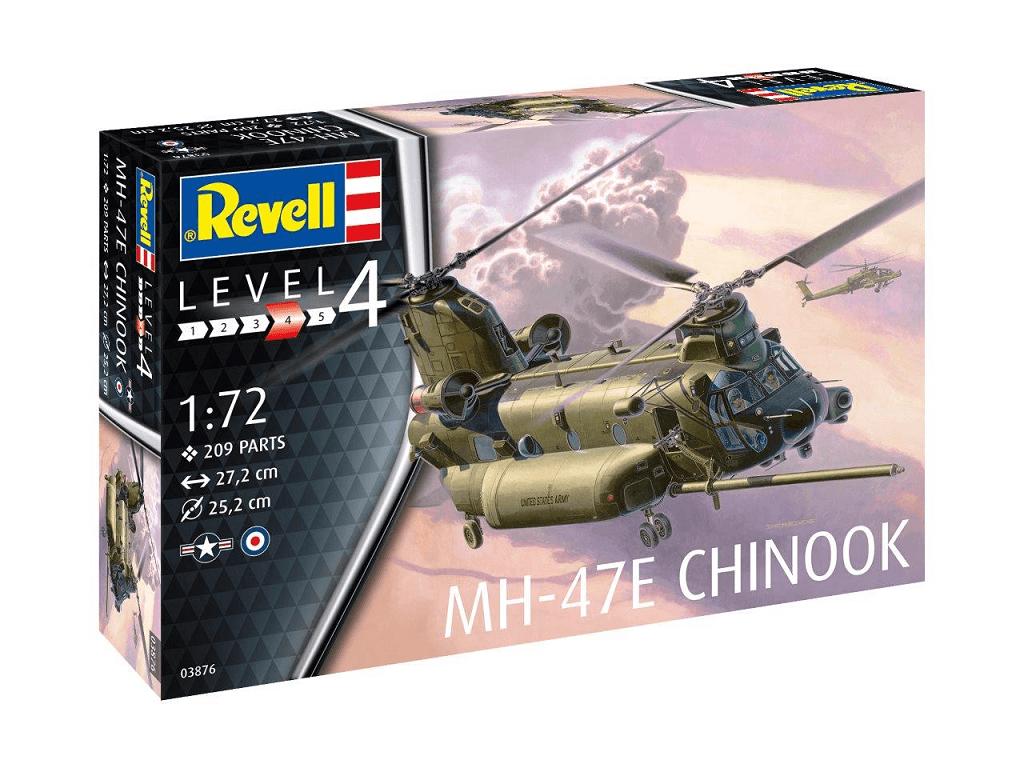 Revell maketa letala MH-47 Chinook 03876