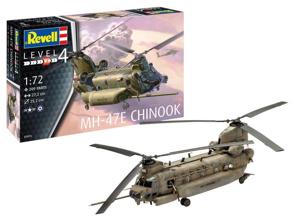 Revell maketa letala MH-47 Chinook 038761
