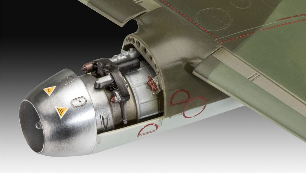 Revell maketa letala Messerschmitt Me262A-1A-2 – 240 038752