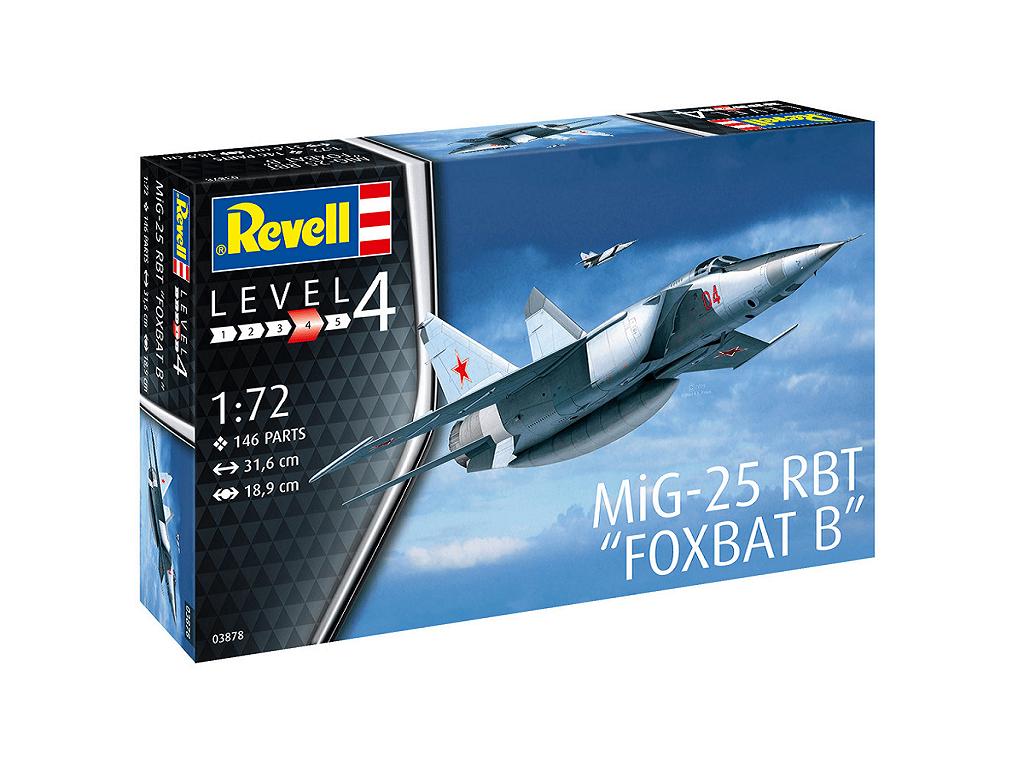 Revell maketa letala MiG-25 RBT – 165 03878