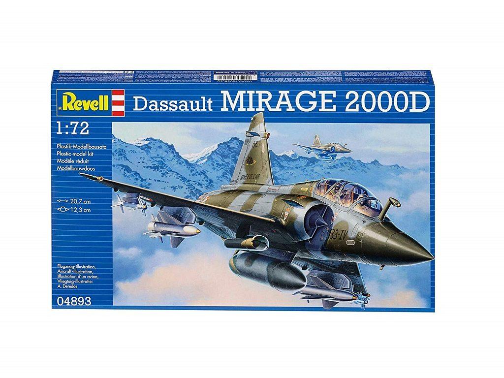 Revell maketa letala Mirage 2000D 04893