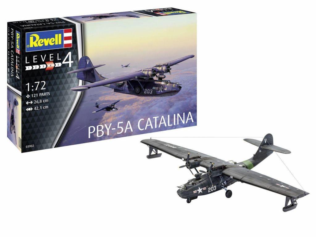 Revell maketa letala PBY-5a Catalina – 180 039021
