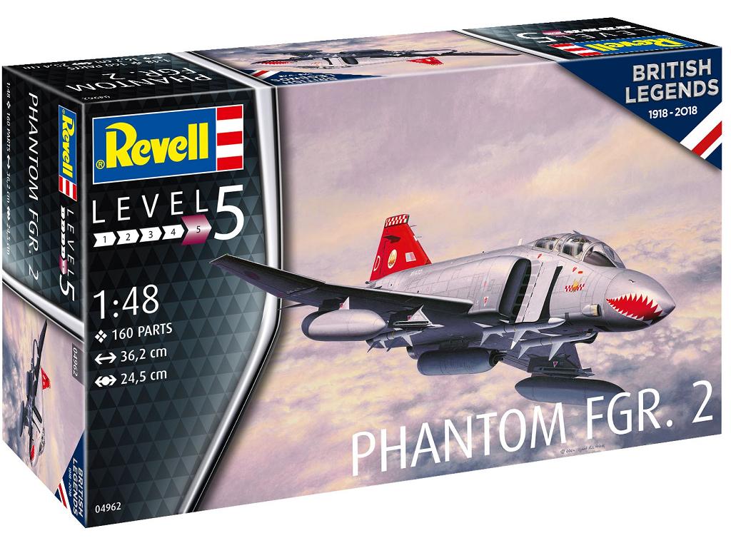 Revell maketa letala Phantom FGR Mk.2 04962