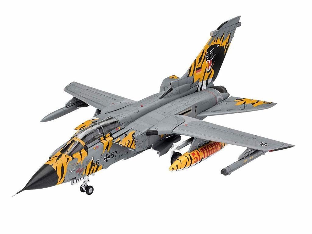 Revell maketa letala Tornado ECR Tigermeet 2018 set z barvami, čopičem in lepilom 63880 1