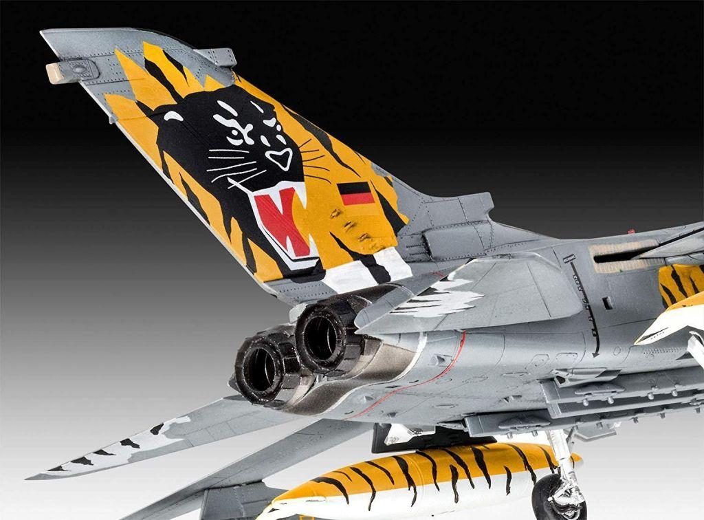 Revell maketa letala Tornado ECR Tigermeet 2018 set z barvami, čopičem in lepilom 63880 3