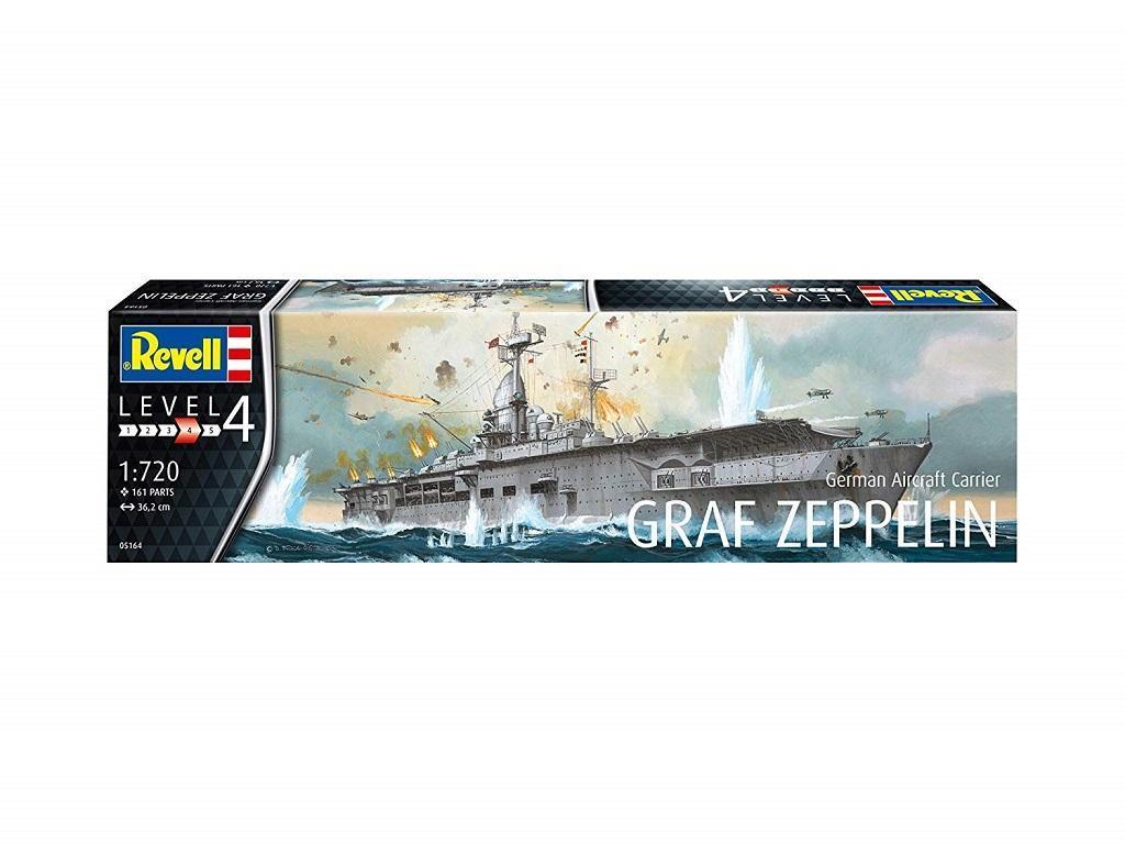 Revell maketa letalonosilke Graf Zeppelin 05164