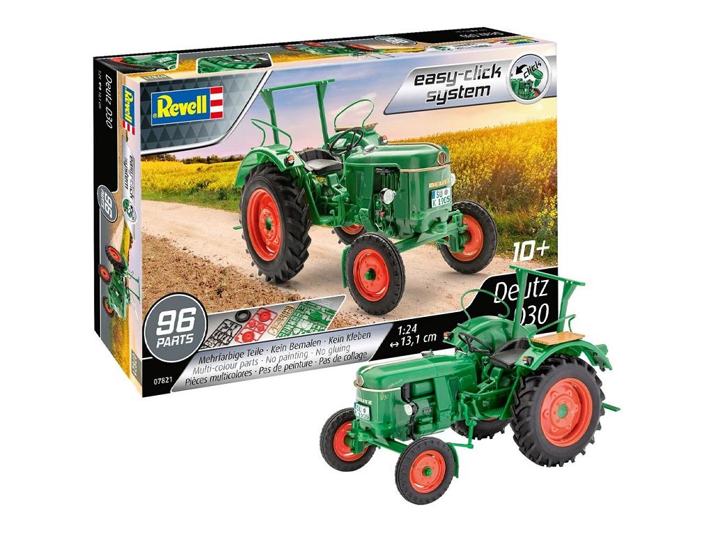 Revell maketa traktorja Deutz D30 07821