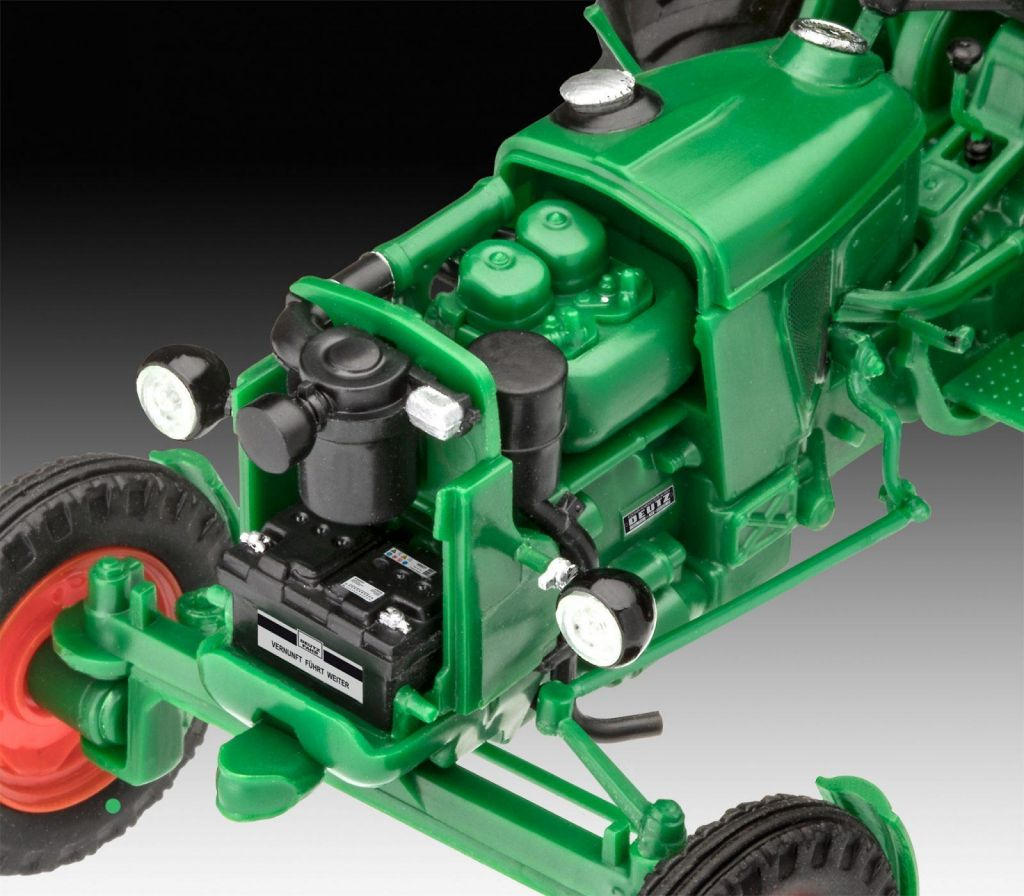 Revell maketa traktorja Deutz D30 07821 3