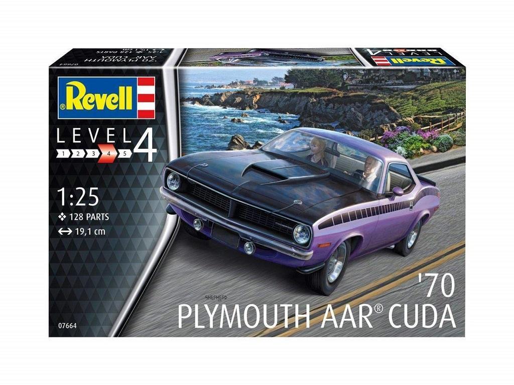 Revell maketa vozila '70 Plymouth AAR Cuda 07664