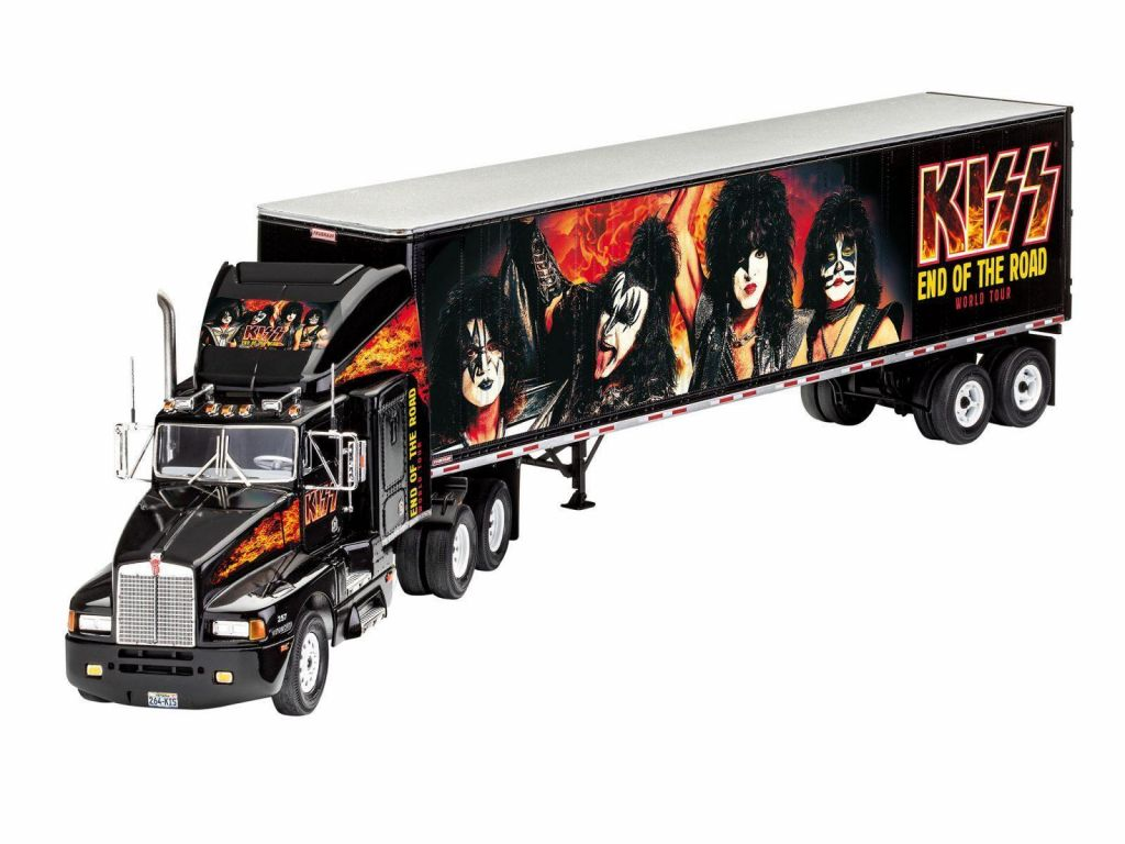 Revell model tovornjaka KISS Tour Truck 07644 1