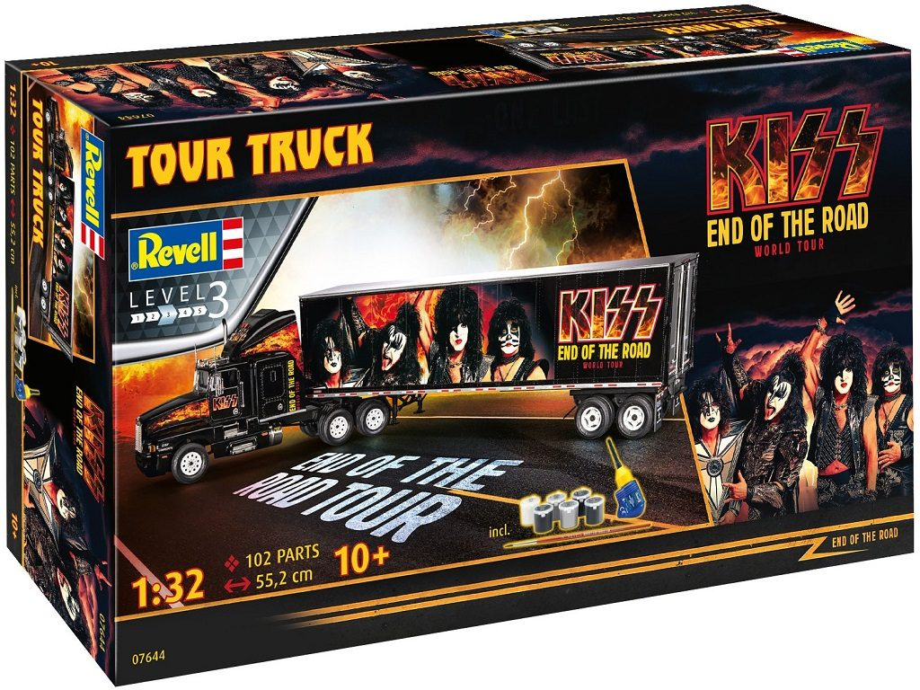 Revell model tovornjaka KISS Tour Truck 07644