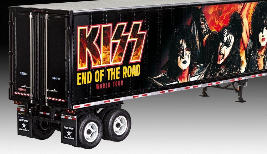Revell model tovornjaka KISS Tour Truck 07644 4