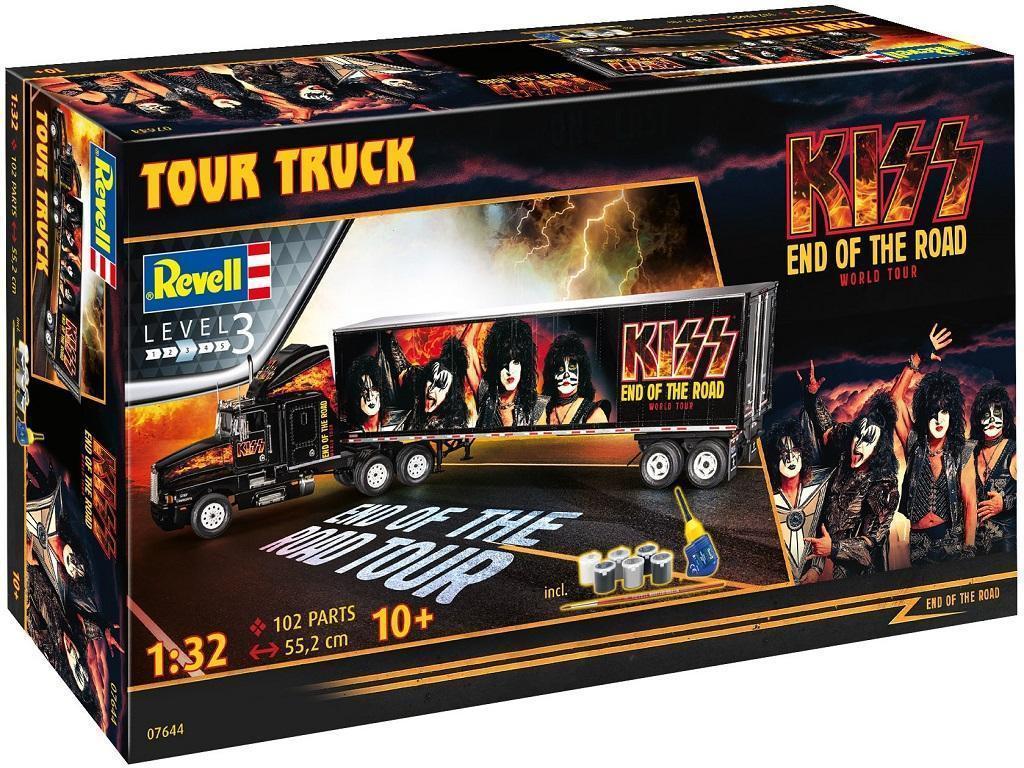 Revell model tovornjaka KISS Tour Truck 07644