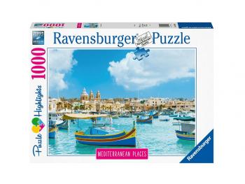 Sestavljanka Malta Ravensburger 1000 delna