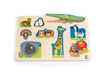 Hape Puzzle divje živali E1403