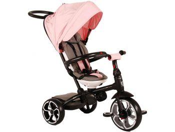 Otroški tricikel Qplay 4v1 pink