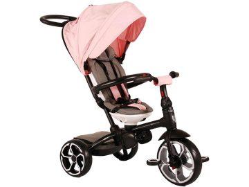 Otroški tricikel Qplay 4 v 1 pink