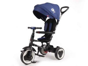 Otroški tricikel Qplay Rito zložljiv 3v1