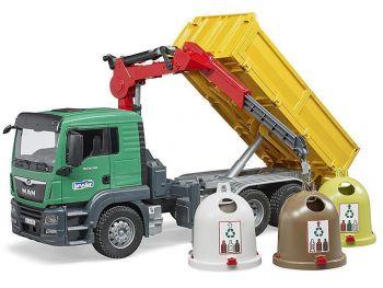 Bruder Tovornjak Man TGS za recikliranje 03753