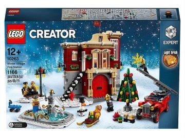 LEGO kocke Creator Gasilska postaja v zimski vasici 10263