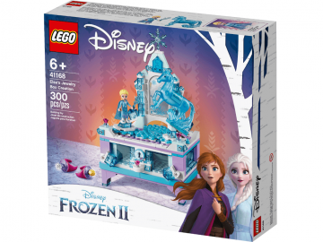 LEGO kocke Disney Elzina škatlica za dragocenosti Ledeno kraljestvo 2 41168