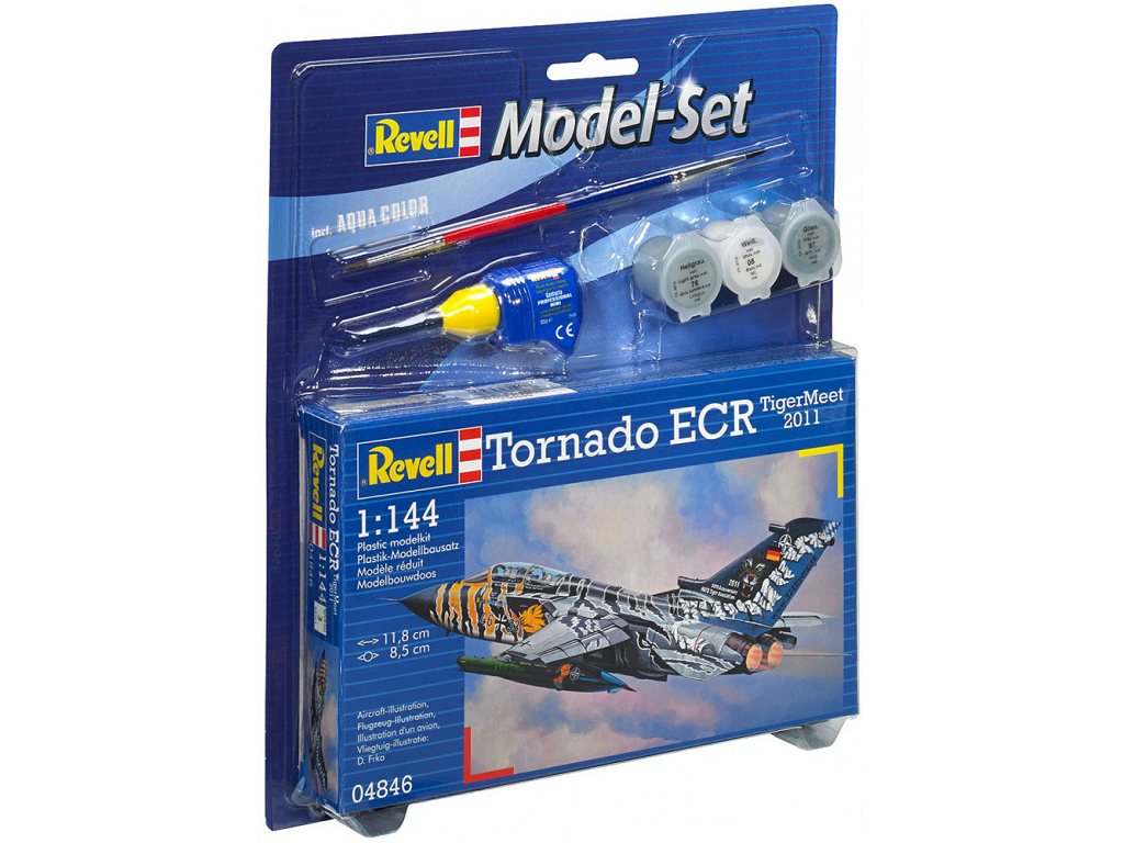 Revell maketa letala Model Set Tornado ECR Tigermeet 2011 64846