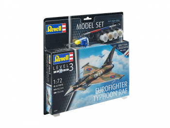 Revell maketa letala Typhoon Eurofighter Raf