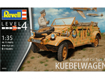 Revell model avtomobila German Staff Car Type 82